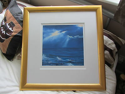 Wendy Corbett Limited Edition 'THE CALM DESCENDS' #167/395 Mounted & Framed