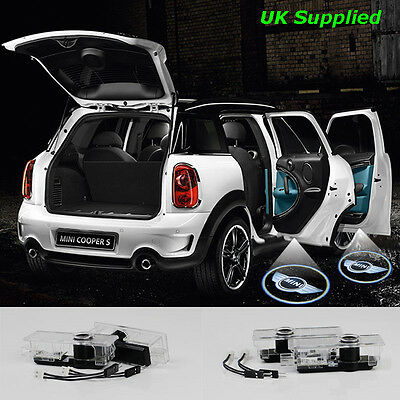 2x Mini Laser LED Door Puddle Courtesy Projector Lights. Cooper Countryman (PL)