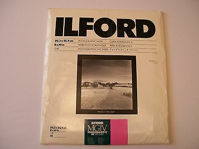 Ilford 8 x 10 Multigrade IV RC DE LUXE Photo Paper 25 Sheets NEW / OTHER 1770306