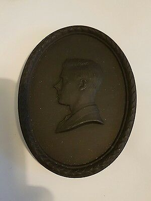Wedgwood Black Basalt King Edward V111/duke Of Windsor Memorial 1972 655/2000