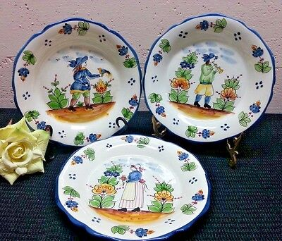 Vintage Set Andrea by Sakek - Jay Wilfred Collectors Plates