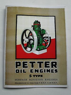 Petter Oil Engine S Type Catalogue
