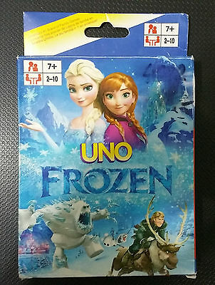 UNO playing cards game FROZEN - Frozen Elsa Anna Olaf - DISNEY