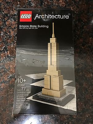 LEGO Architecture Empire State Building 21002 - New in sealed box