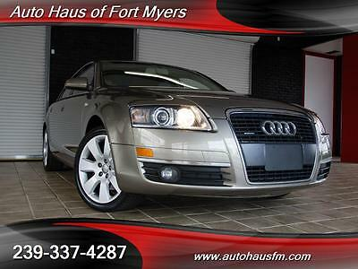 2005 Audi A6  We Finance & Ship Nationwide Fully Serviced FL Owned Premium Pkg Heated Seats