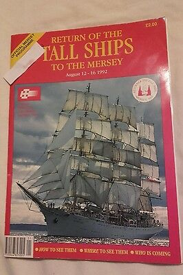 Return of the Tall Ships Mersey 1992 programme