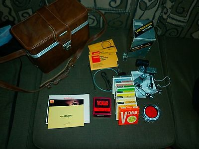 Lot of  Vintage Camera Case, Filters,Flashes, Bellow and other equipment