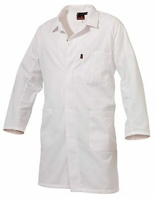 KING GEE Dust Coat Lab Food Industry White New K06170