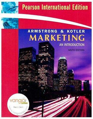 Marketing - An Introduction - Armstrong and Kotler 9th Edition