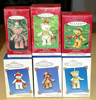 Hallmark ~ Gift Bearers Lot ~ #1, #2, #3, #4, #5, and #7 in series!