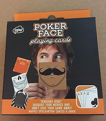 Poker Face Playing Cards-Set Of 54-New