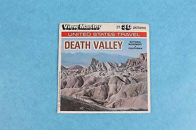 Vintage View-Master 3D Reel Packet A203 Death Valley California Complete