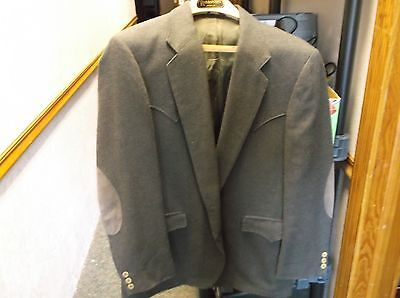 "#8 of 10, NICE MENS WESTERN WEAR BLAZER SUIT COAT JACKET BY ""CIRCLE S"" DALLAS TX"