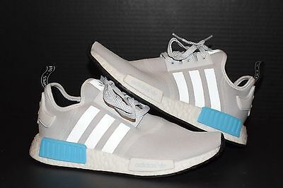 premium selection 44d5e f0216 ADIDAS NMD R1 J Bright Cyan Sz 7 original runner boost ultra eqt xr1 blue  gray