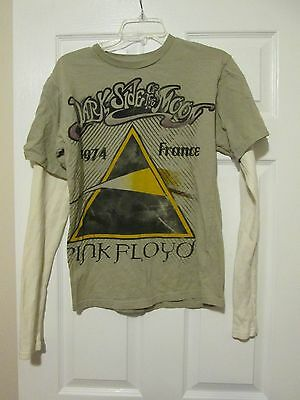 Dark Side Of The Moon Pink Floyd 1974 France Anthill Rockware T Shirt Size Small
