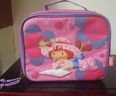 2005 Strawberry Shortcake Smart Cookie Soft Lunch Insulated  Nice!