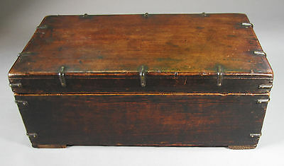 A Fine Korean Wood Ink Stone Box with Old Patina-19th C.