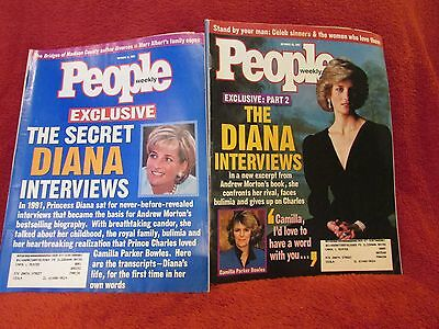 Four Princess Diana People Weekly Magazines Sept Oct 1997 Post Death Issues