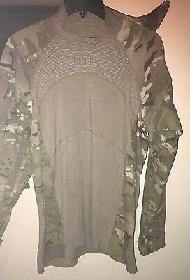 Army Issued Combat Shirt, Flame Resistant, Size Medium