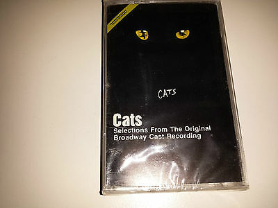 Cats - Selections From The Original Broadway Cast Recording Cassette (1983, Cbs)