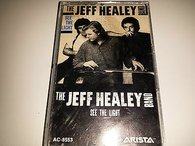 The Jeff Healey Band - SEE THE LIGHT -  CASSETTE (1988, COLUMBIA,canada) AC-8553