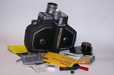 Vintage Bell & Howell 240 16mm Movie Camera with Case