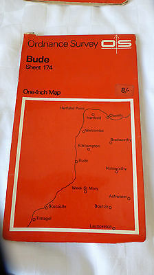 Bude  One-Inch OS Map Sheet 174