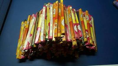 Lote Stock 160 Pack Inciensos HEM SQUARE melocoton fresa manzana verde incense