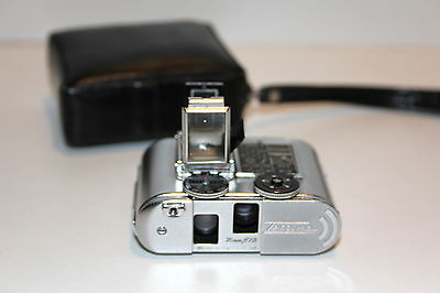 Tessina 35 - 25mm 1:2.8 - Made in Switzerland - with leather case