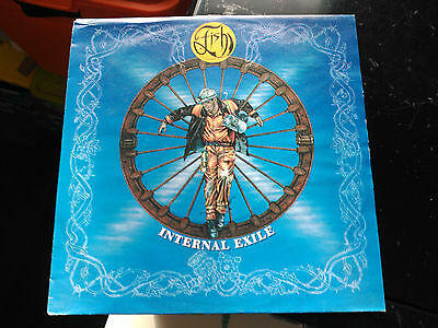 Single Fish - Internal Exile - Polydor Europe 1991 Vg+