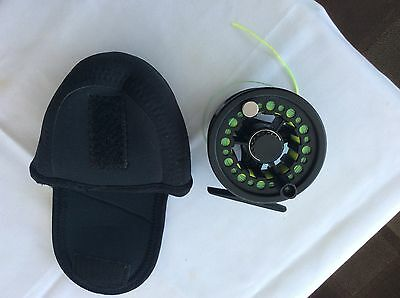 Tenko Fly Fishing Reel With Wf 7 Floating Line.