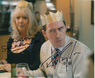 Rob Brydon and Alison Steadman SIGNED photo - J892 - Gavin & Stacey