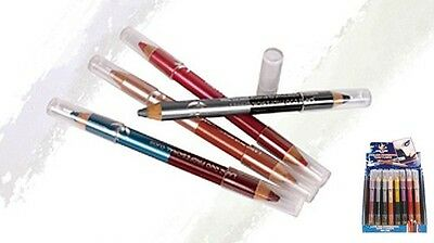 MATITA LAPIZ DUO EASY PARIS OCCHI LABBRA double cosmetic pencil crayon eyeliner