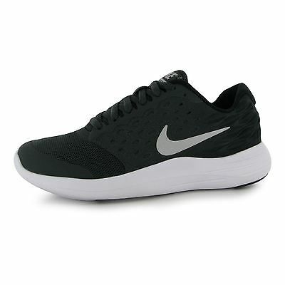 Nike Lunarstelos Running Trainers Juniors Anthracite/Silv Sports Shoes Sneakers