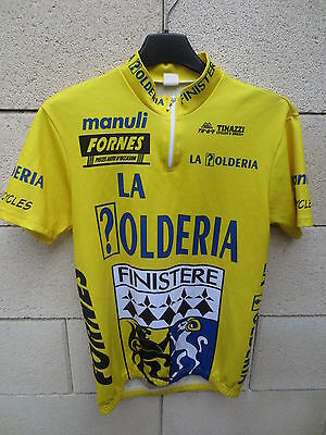 Maillot cycliste LA ?OLDERIA FINISTERE Bretgane cycling shirt jersey Tinazzi 1