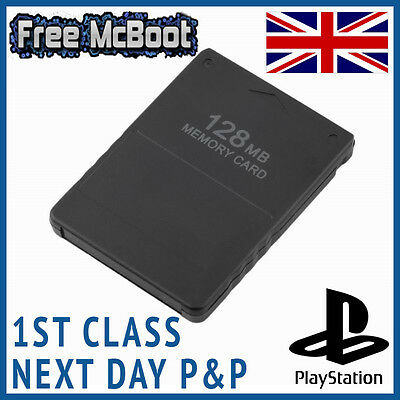 Sony Playstation 2 Free McBoot FMCB 1.953 PS2 Memory Card *128MB Macboot Ex Apps