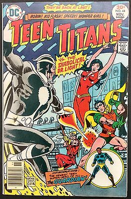 Teen Titans #44 1976 Gorgeous Vf/nm  Mal Is The Guardian 1St App,dr.light+Flash