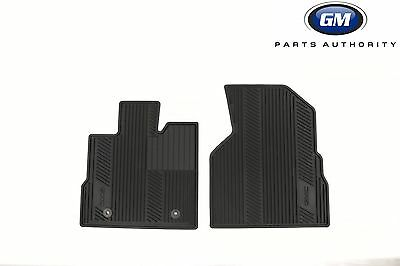 543cdeb254 10-17 GMC Terrain Premium All Weather Front Floor Mats 22832328 Black OEM GM