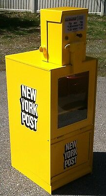 Newspaper- Machine-Refurbished-New York Post Vending Machine