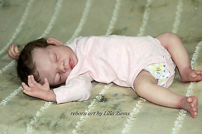 Baby Bunting reborn vinyl doll kit by Valerie Champion THIS IS A BLANK KIT