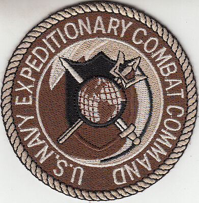 U.s. Navy Expeditionary Combat Desert Command Chest Patch