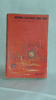 Vintage 1968 National Electrical Code NEC Manual Book - A USA Standard NFPA  (G)