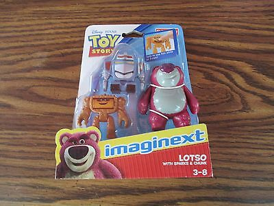 Disney / Pixar Toy Story 3 Figure Lotso With Sparks & Chunk free shipping