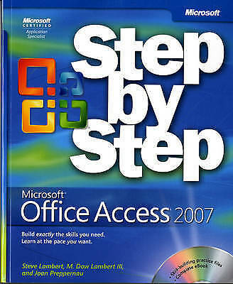 Microsoft  Office Access(TM) 2007 Step by Step (Step By Step-ExLibrary
