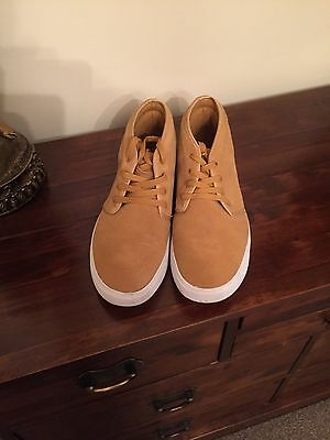 casual suade light brown boots