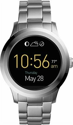 Fossil - Q Founder Smartwatch 46mm Stainless Steel - Silver BRAND NEW