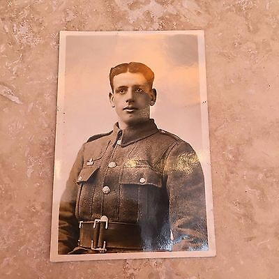WW1 Regiment Officer Soldier Military Army Unposted Postcard