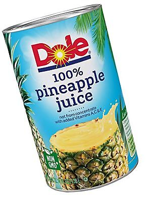 Dole Pineapple Juice 46 Ounce (Pack of 6) 46 Ounce (Pack of 6)