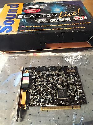Creative Sound Blaster Live 5.1 Sb0060 Pci Card