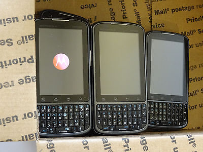 Lot of 12 Motorola Droid Pro XT610 Verizon Smartphones Most Power On AS-IS
